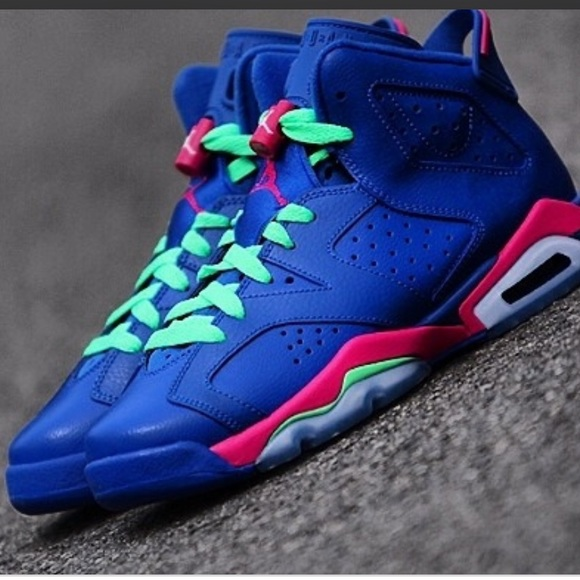 online store a513b ebf02 Air Jordan 6 Retro Game Royal